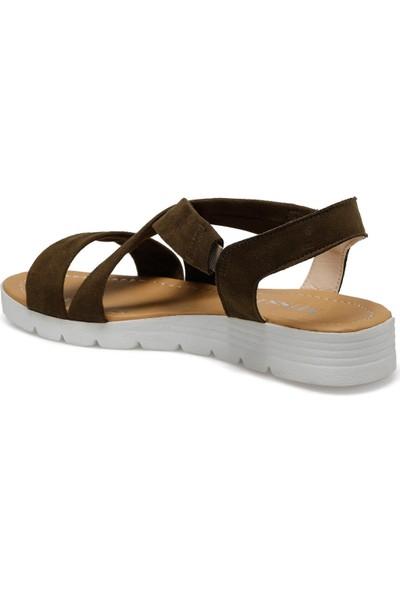 Art Bella Cs20047 Haki Kadın Sandalet
