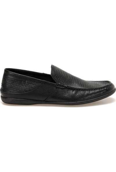 Flogart Gzl-50-1 Jel Siyah Erkek Klasik Ayakkabı