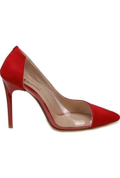 Butigo Murphy Kırmızı Kadın Topuklu Ayakkabı