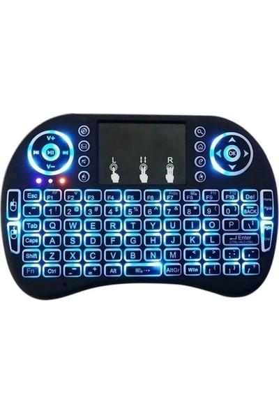 Mobitell Mini Kablosuz Dokunmatik Klavye Mouse