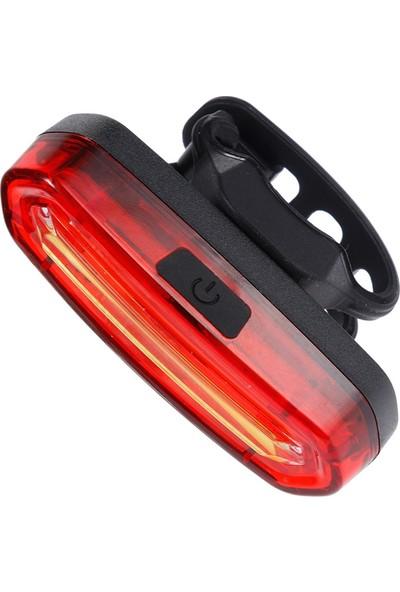 Shine Şarjlı LED USB Stop Arka Lamba Uyarı Işığı Polis Çakar Işık