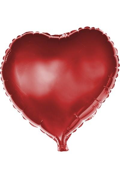 Partibahcesi 24'Kalp Folyo Balon Kırmızı