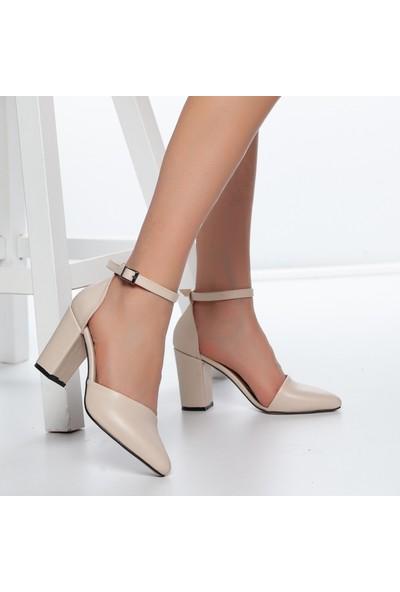 Daxtors D1050 Kadın Günlük Klasik Topuklu Ayakkabı