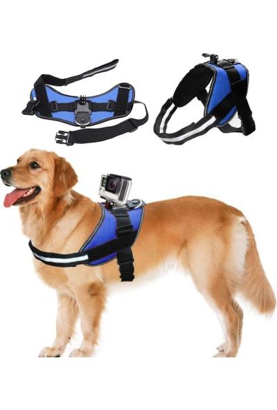 Gopro Sjcam Aksiyon Kamera Köpek Göğüs Askısı Kamera Tutucu