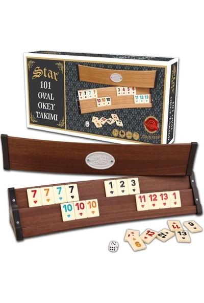 Star Oyun Aletleri Okey Takımı 101 Oval STAR-1010631