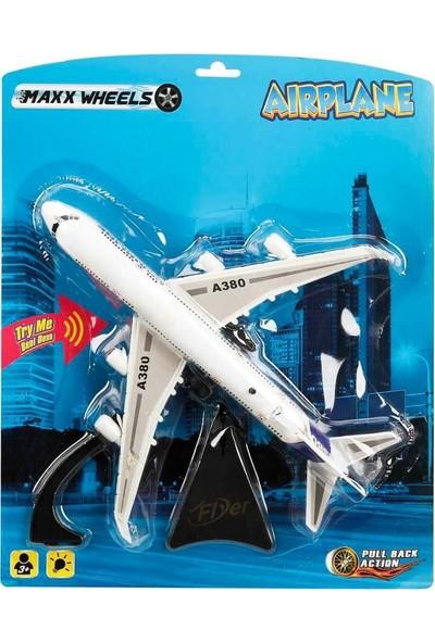 Maxx Wheels A380 Airbus Işıklı Uçak