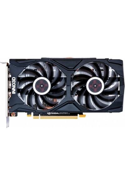 Inno3d GeForce RTX2060 Twin X2 6GB 192Bit GDDR6 (DX12) PCI-E 3.0 Ekran Kartı