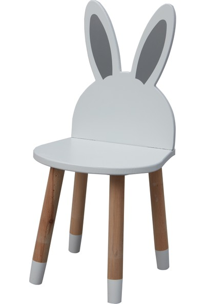 Viviki Tivity Çocuk Odası Ahşap Aktivite Masası 2 Sandalye