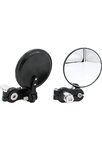 MTS Gidon Direksiyon Ayna Motosiklet Ayna Siyah