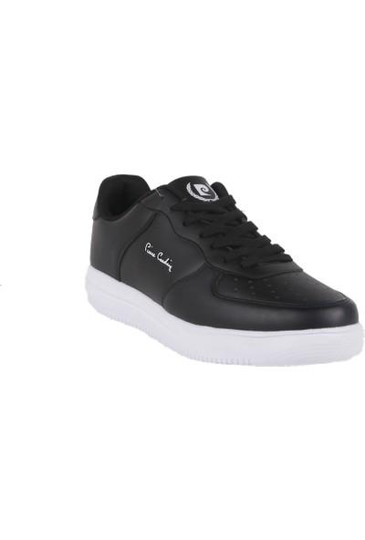 Pierre Cardin Erkek Spor Ayakkabı 10155 Siyah-Beyaz