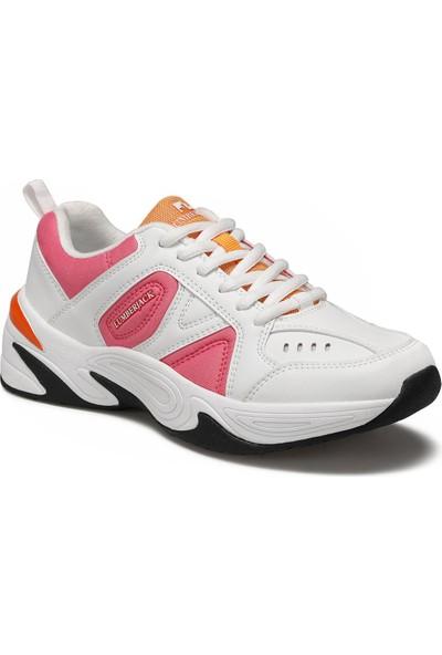 Lumberjack Kadın Legend Wmn 9W Spor Ayakkabı Beyaz-Fuşya