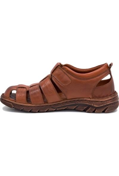 Gedikpaşalı Frk 1021 Taba Erkek Terlik Sandalet