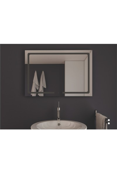 Ayna Dokunmatik Işıklı Ayna 60 x 80 cm