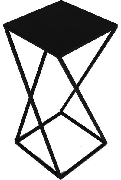 Wess Ws-21 Metal Çiçeklik, Sehpa 3'lü Set
