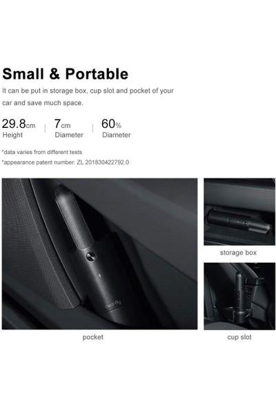Xiaomi Cleanfly Elektrikli Araç El Tipi Süpürge Mini Taşınabilir USB Şarj Siyah