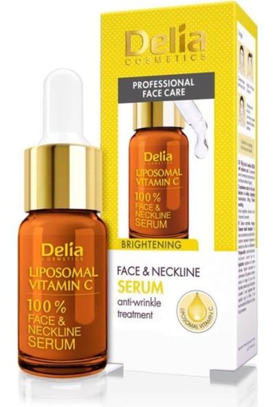 Delia Brightening Aydınlatıcı C Vitamini Yüz ve Boyun Serumu 10ML