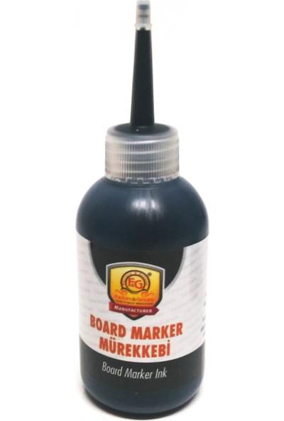 Factory Genuine Board Marker Tahta Kalemi Mürekkebi 100 ml Siyah