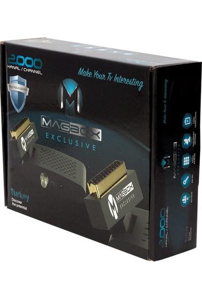Magbox Exclusıve Sd Uydu Alıcısı Tgks