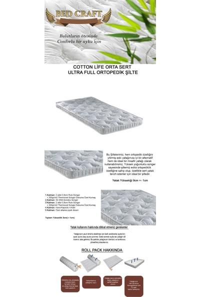 Bed Craft Cotton Life Orta Sert Ultra Full Şilte 160 x 200 cm