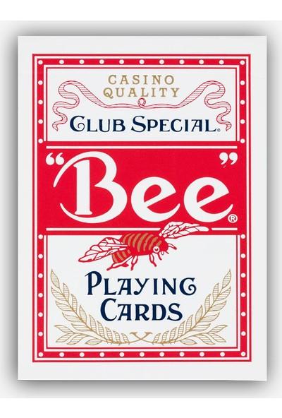 Bee Bee Kırmızı Oyun Kağıdı İskambil Destesi