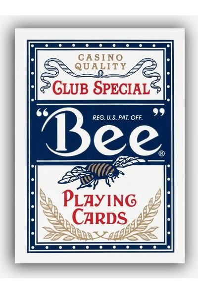 Bee Bee Mavi Oyun Kağıdı İskambil Destesi