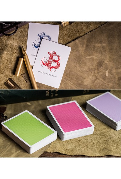 Bocopo Steel Yeşil Oyun Kağıdı V2 Edition İskambil Destesi