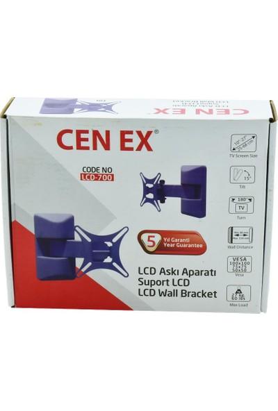 """Cen Ex LCD-700 10"""" - 27"""" Hareketli Askı Aparatı"""