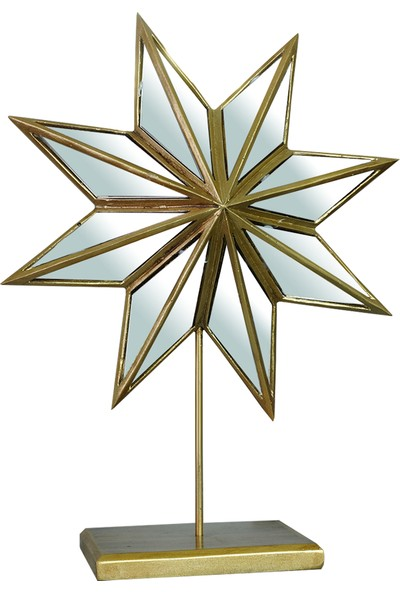 Horaven Dekor – Aynalı Altın Yıldız