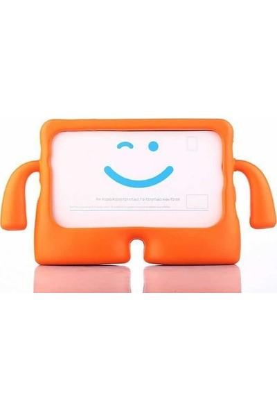 Beğenseç Apple iPad 9.7 2018 Ibuy Standlı Tablet Kılıf Turuncu