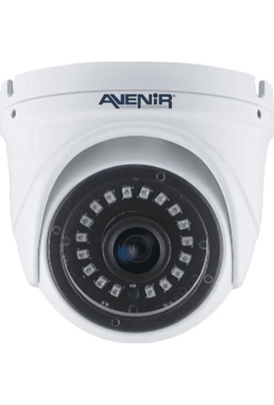 Avenır AV-DF218 2mp 3.6mm Cmos 1080P Tvı/ahd /cvı/cvbs Plastık Kasa Ir Dome Kamera