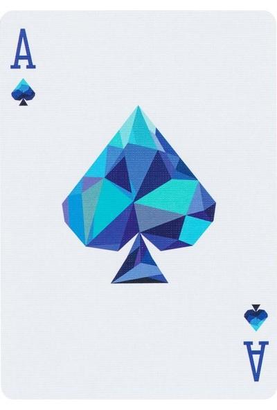Murphy Magic Memento Mori Mavi Oyun Kağıdı İskambil Destesi