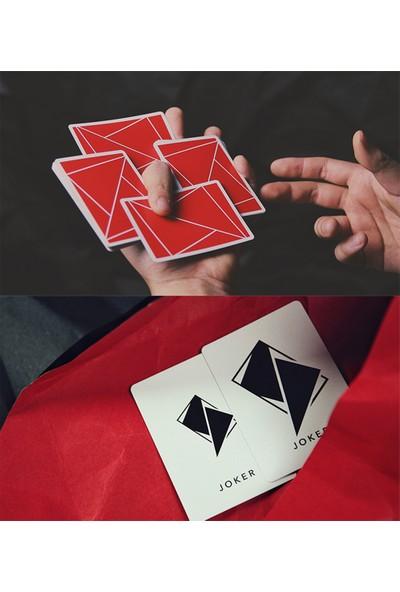 Tcc Flexible Kırmızı Oyun Kağıdı İskambil Destesi