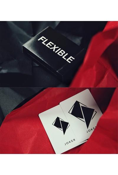 Tcc Flexible Siyah Oyun Kağıdı İskambil Destesi