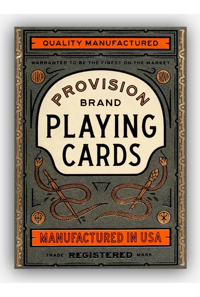 Theory11 Provision Oyun Kağıdı İskambil Destesi