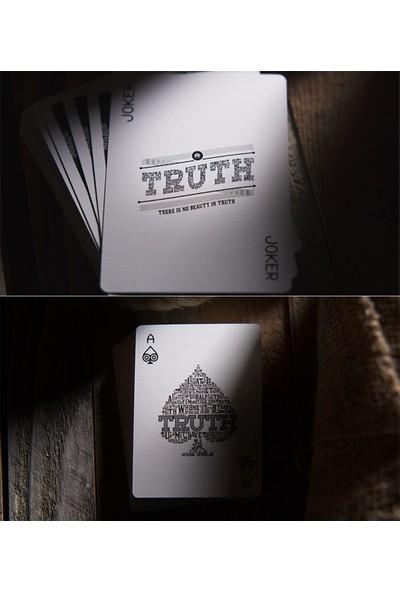 Uspcc Truth Oyun Kağıdı İskambil Destesi Lies Require Commitment