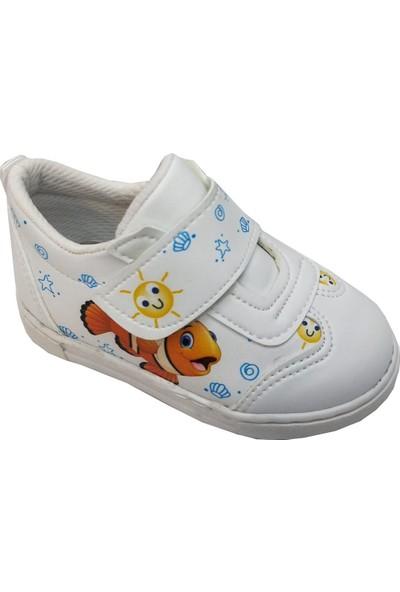 Cemre Bebe 3754 Cırtlı Çocuk Spor Ayakkabı