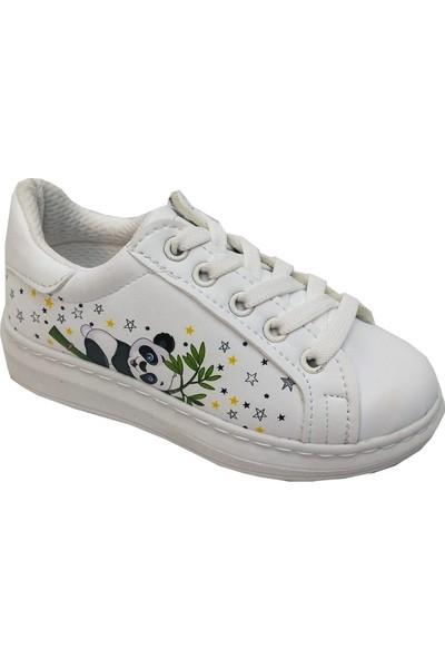Cemre Bebe 3761 Bağlı Fermuarlı Patik Spor Ayakkabı