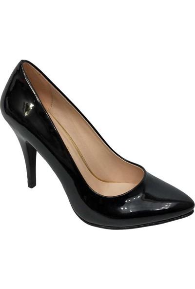 Gizem 566 Rugan Stiletto İnce Topuk Kadın Ayakkabı