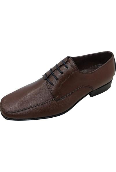Selim 4038 Bağcıklı Kösele Taban Erkek Ayakkabı
