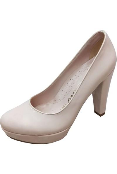 Zarif 20mm Platform Topuklu Stiletto Ayakkabı