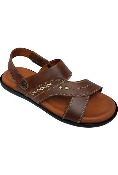 Dr.Flexer 438 Hakiki Deri Erkek Sandalet