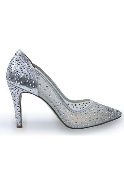 BB Shoes Sindy Abiye Düğün Ayakkabısı Lame Renk