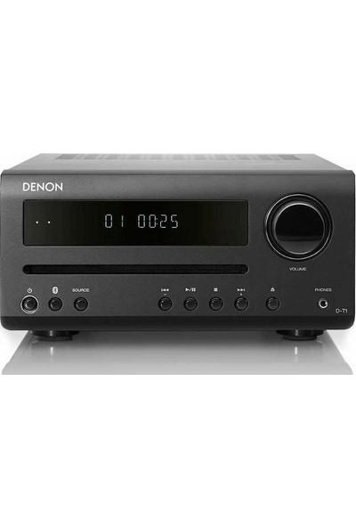 Denon D-T1 30W Bluetooth CD Player Mikro Müzik Sistemi