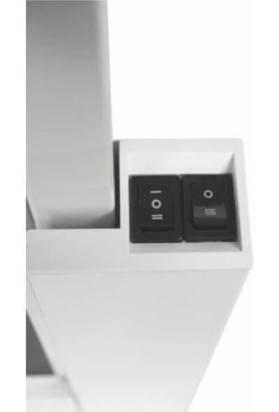 Luxeva As-Beyaz Aspırator Cekmelı Cıft Motorlu