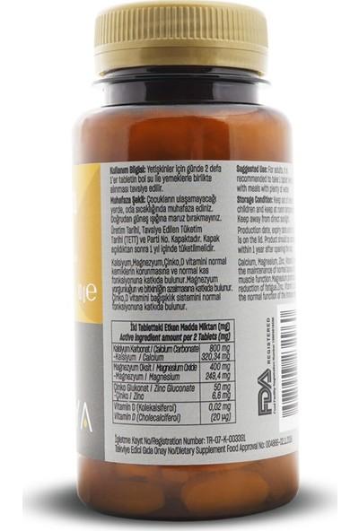 Talya Kalsiyum, Magnezyum, Çinko, Vitamin D İçeren Takviye Edici Gıda