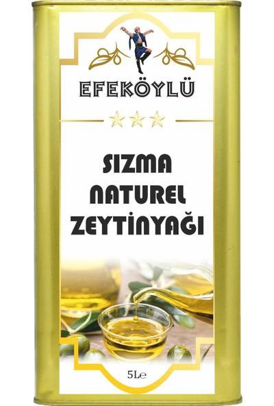 Efe Köylü Naturel Sızma Zeytinyağı 4' Lü 5 Lt