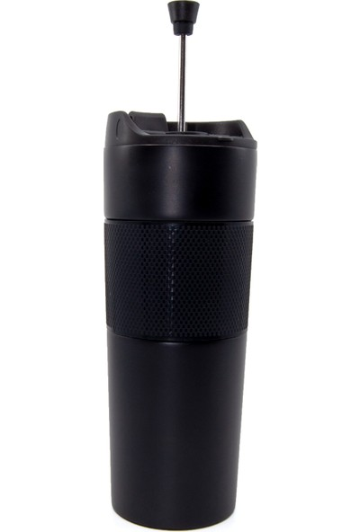 French Press Termos Siyah 500 ml