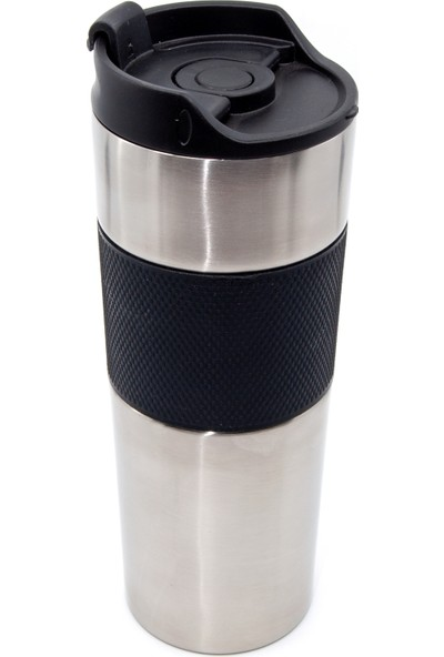 NunPromosyon French Press Termos Gümüş 500 ml