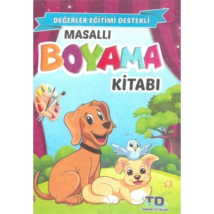 Masalli Boyama Kitabi 5 Li Set Degerler Egitimi Destekli Fiyati