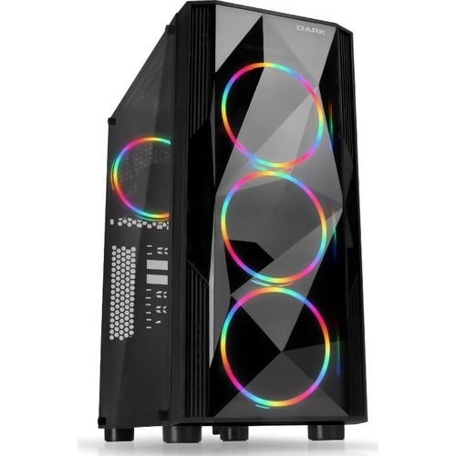 Dark Diamond Pro 750W 80+ Bronze 4x12cm RGB USB 3.0 Bilgisayar Kasası